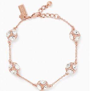 NWT Kate Spade lady marmalade rose gold bracelet.